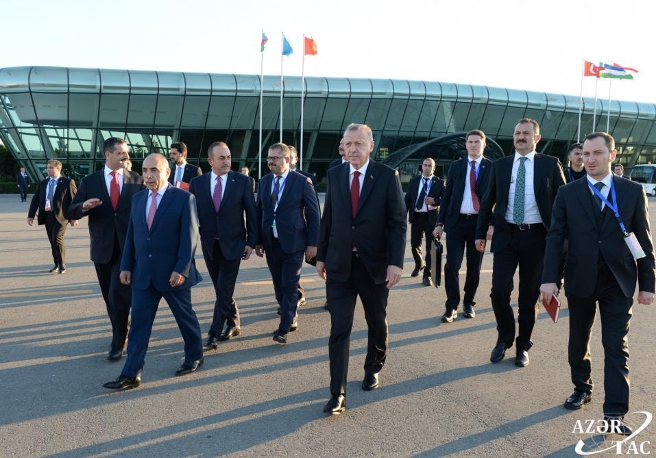 Завершился визит президента Турции Реджепа Тайипа Эрдогана в Азербайджан