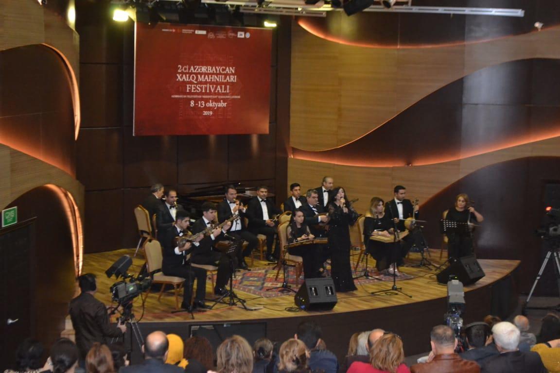 В Центре мугама завершился второй Фестиваль азербайджанских народных песен