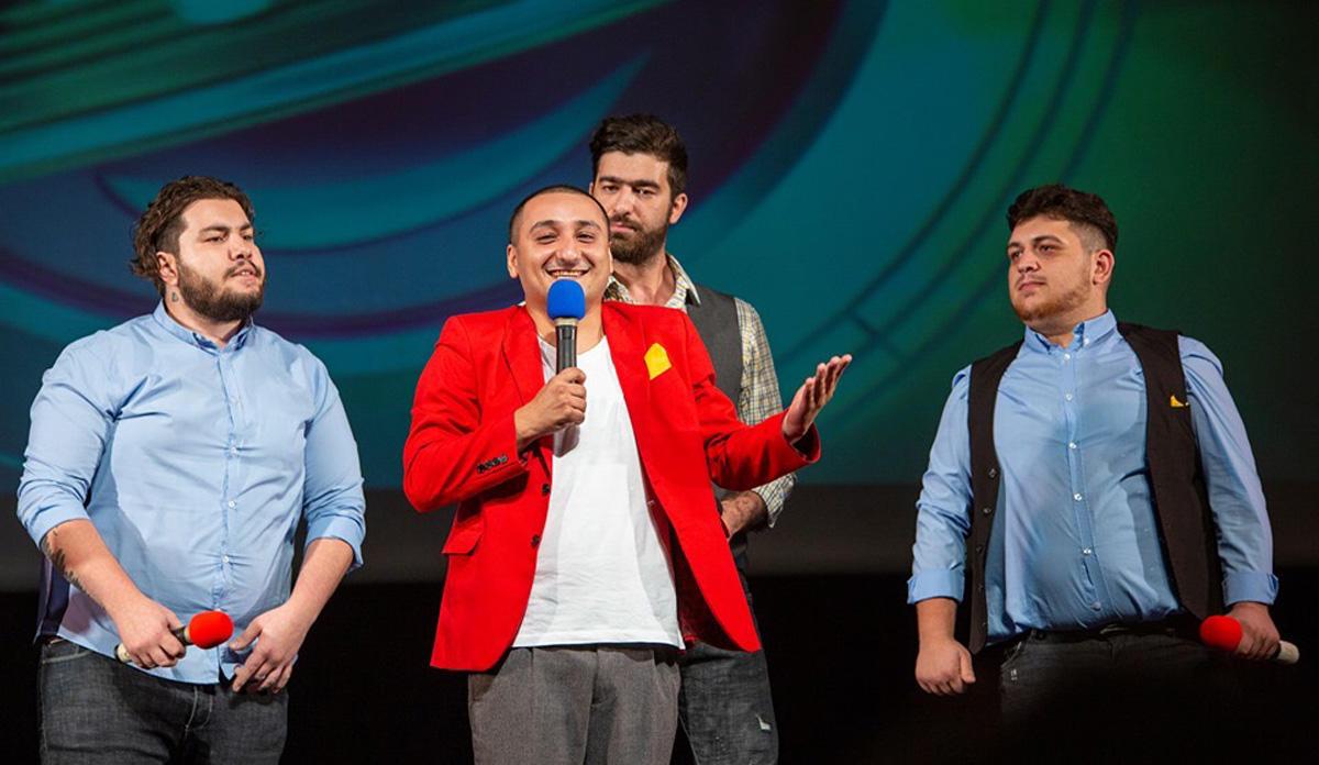 """Азербайджанская команда """"Как по маслу"""" вышла в финал Израильской Лиги Смеха"""