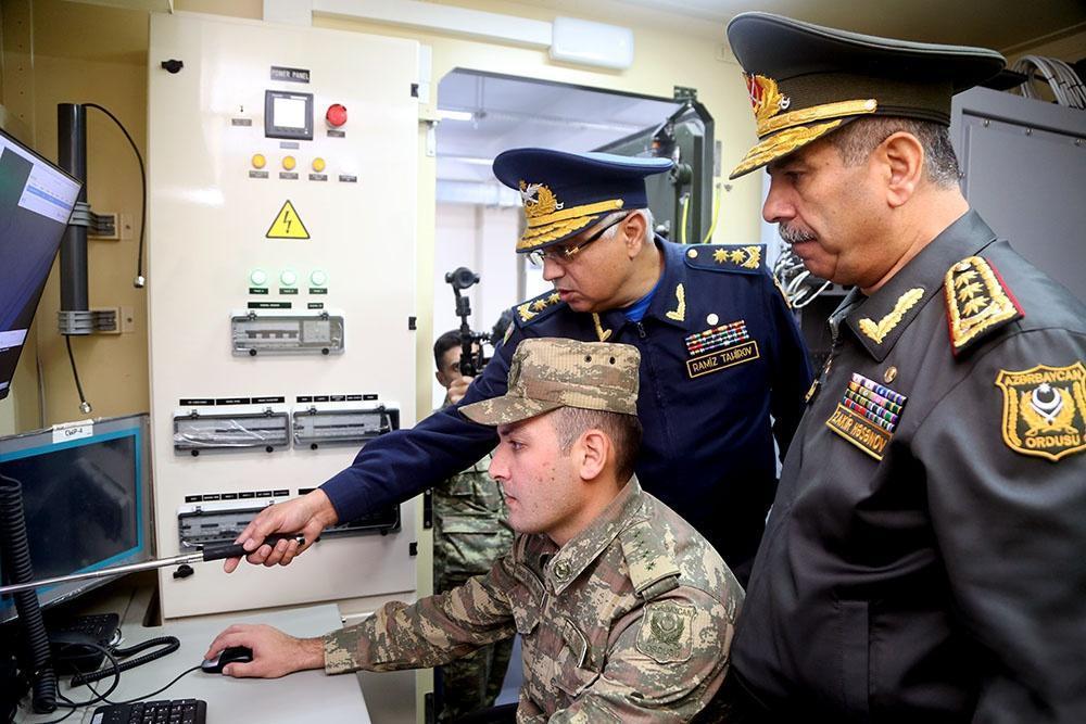 Азербайджан открыл пункт управления новой радиолокационной станции ВВС