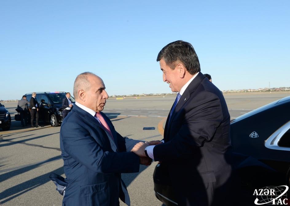 Завершился визит президента Кыргызстана в Азербайджан