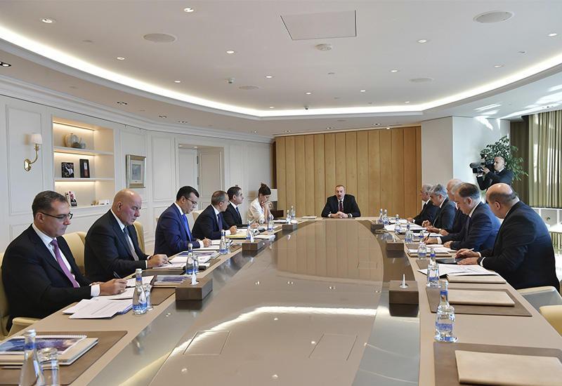 При Президенте Ильхаме Алиеве состоялось экономическое совещание