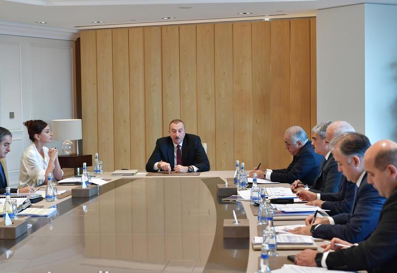 Президент Ильхам Алиев: Неплательщики налогов должны привлекаться к уголовной ответственности