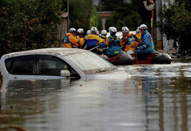В Японии выделят средства для помощи пострадавшим от тайфуна районам