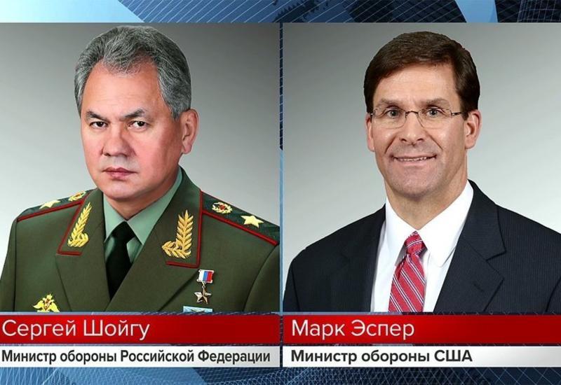 Министры обороны России и США обсудили по телефону ситуацию в Сирии