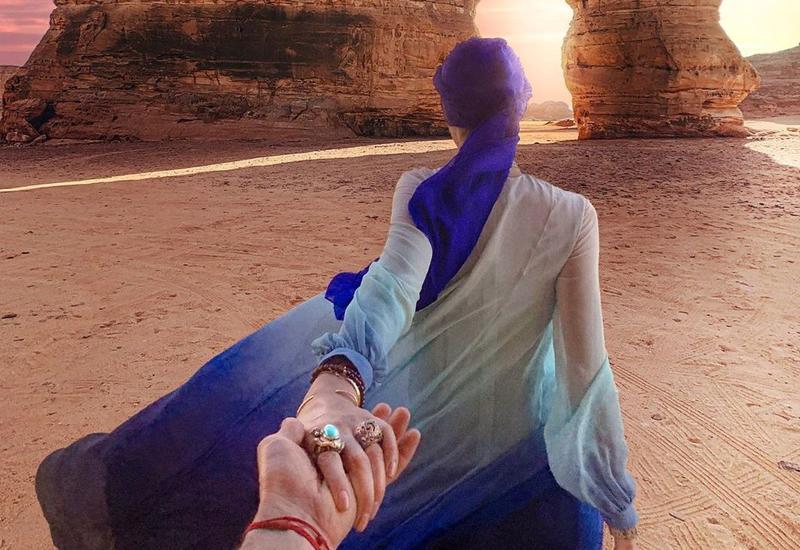 Красивое фото #Followmeto в Саудовской Аравии