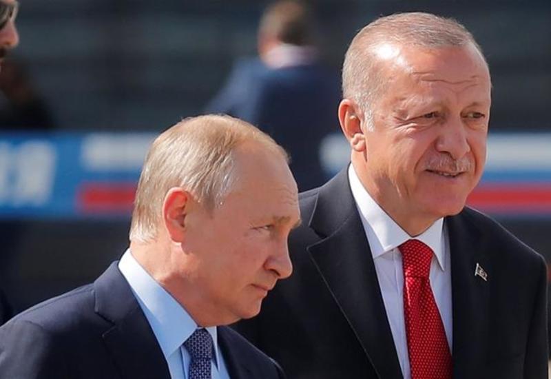 Путин и Эрдоган находятся в контакте по ситуации в Сирии