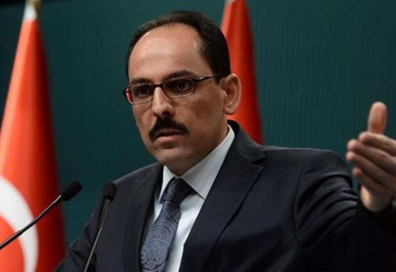 Ибрагим Калын обсудил с официальными представителями ЕС карабахский вопрос