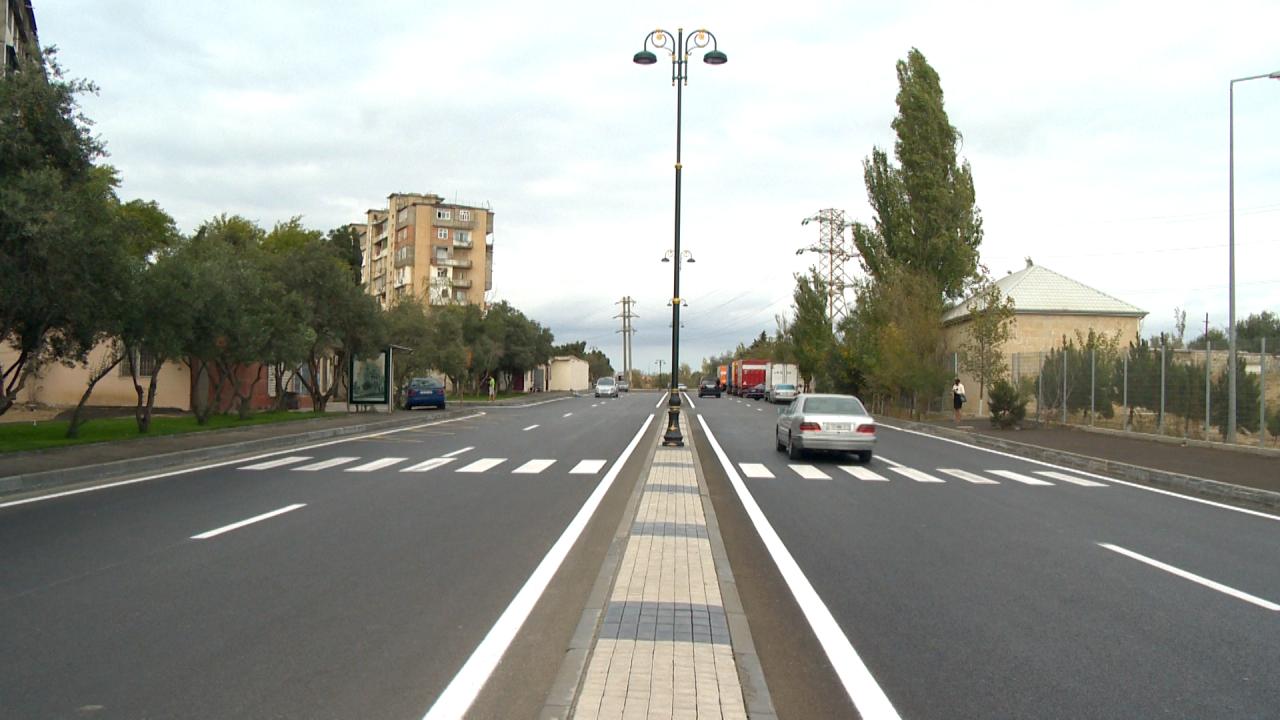 В Баку отремонтировали эту улицу