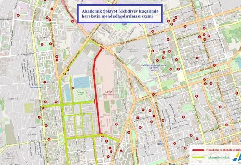 В Баку ограничат движение на этой дороге