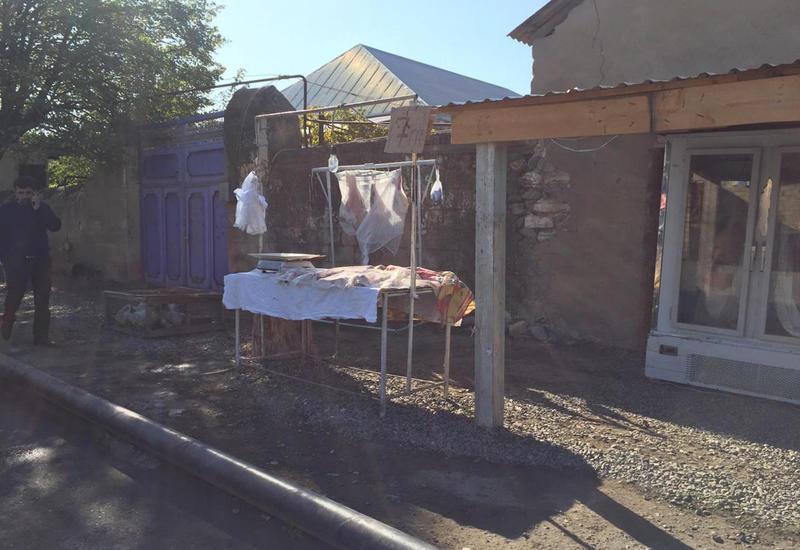 В Шамкире пресечена продажа десятков килограммов мертвечины