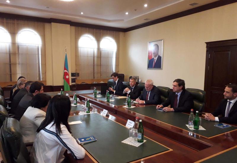 Глава азербайджанской общины Нагорного Карабаха на переговорах с сопредами МГ ОБСЕ