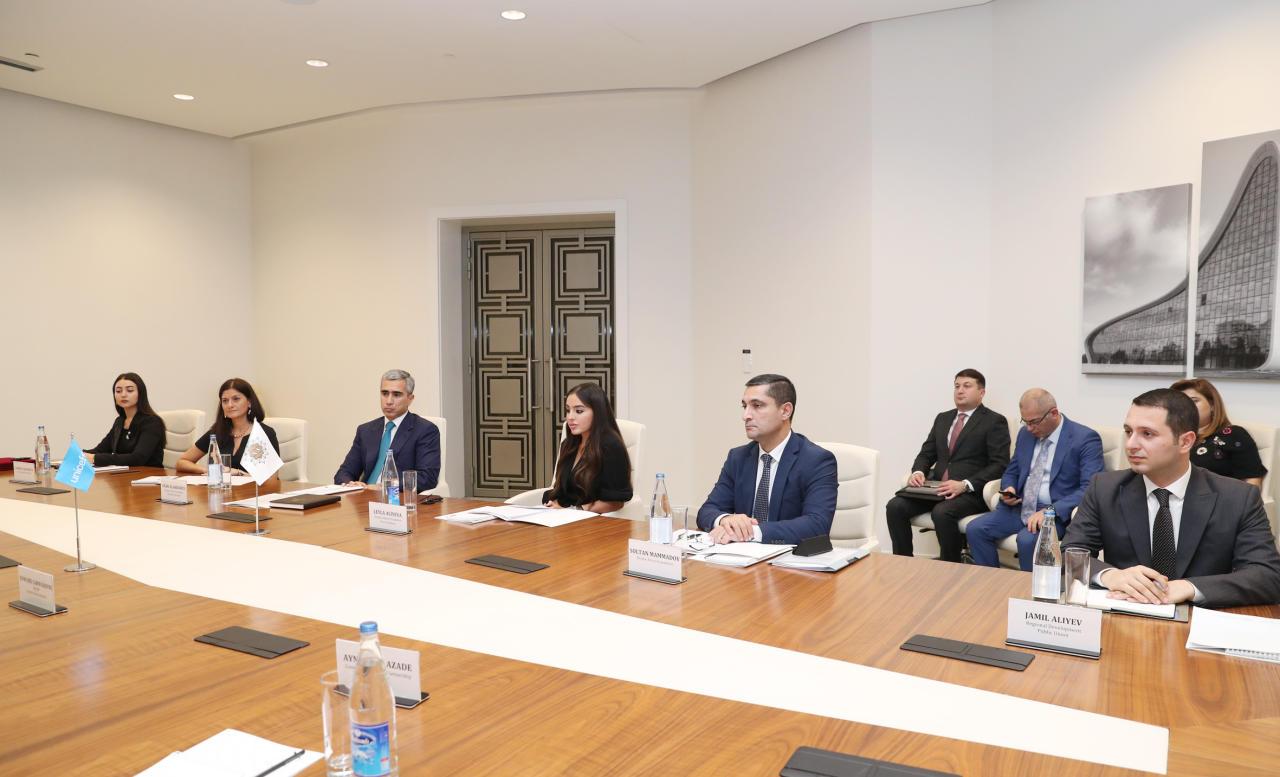 Между Фондом Гейдара Алиева и ЮНИСЕФ подписан Меморандум о взаимопонимании