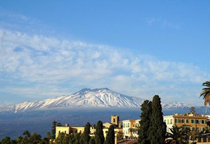 В Италии произошло новое извержение вулкана Этна
