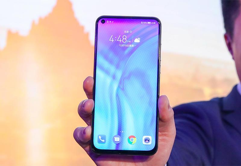 Samsung выпустит смартфон со спрятанной под экраном камерой