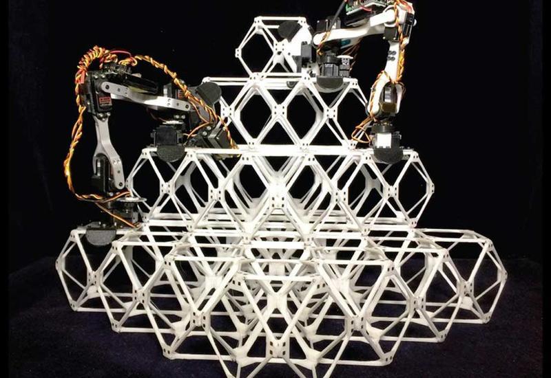 Роботы будут собирать здания и самолёты как LEGO