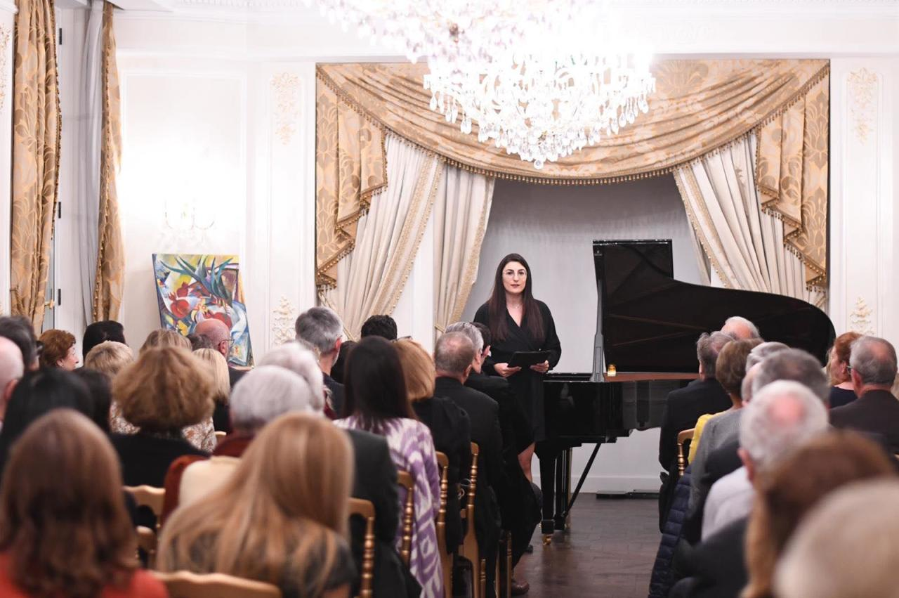 В Париже отметили 100-летие предоставления избирательных прав женщинам в Азербайджане и Грузии