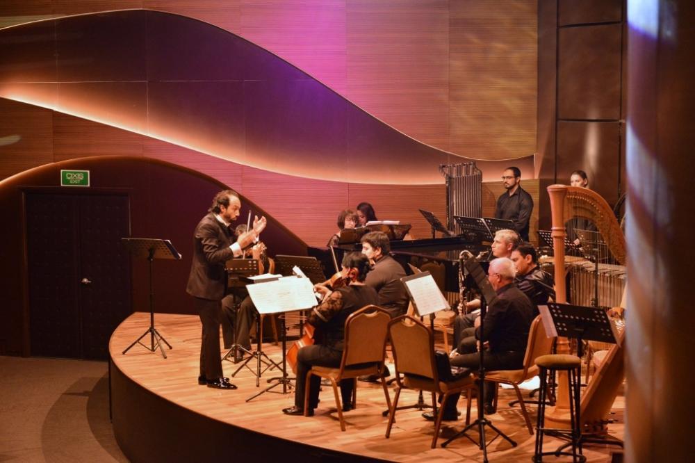 В Центре мугама прошел концерт ансамбля солистов симфонического оркестра им. Уз. Гаджибейли
