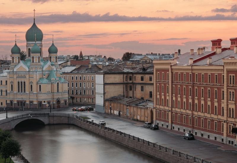 В Санкт-Петербурге обрушился строящийся паркинг