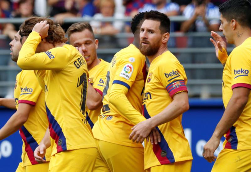 """Барселона"" разгромила ""Эйбар"" и возглавила таблицу Ла Лиги"