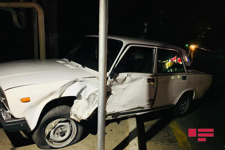 Неудачный обгон привел к жуткому ДТП в Баку