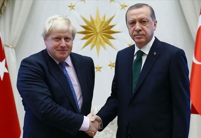 Джонсон и Эрдоган договорились организовать встречу с Макроном и Меркель