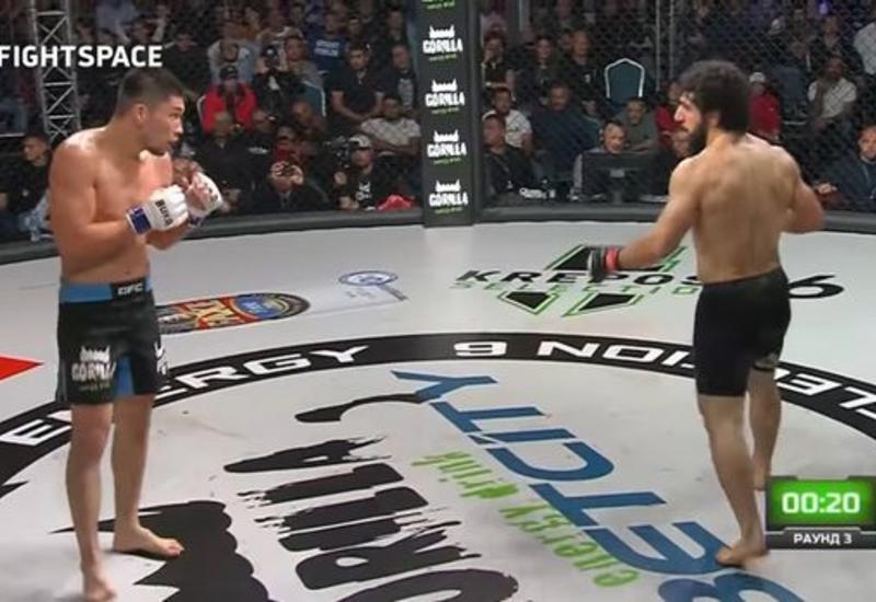 Боец MMA нокаутировал армянина невероятным ударом
