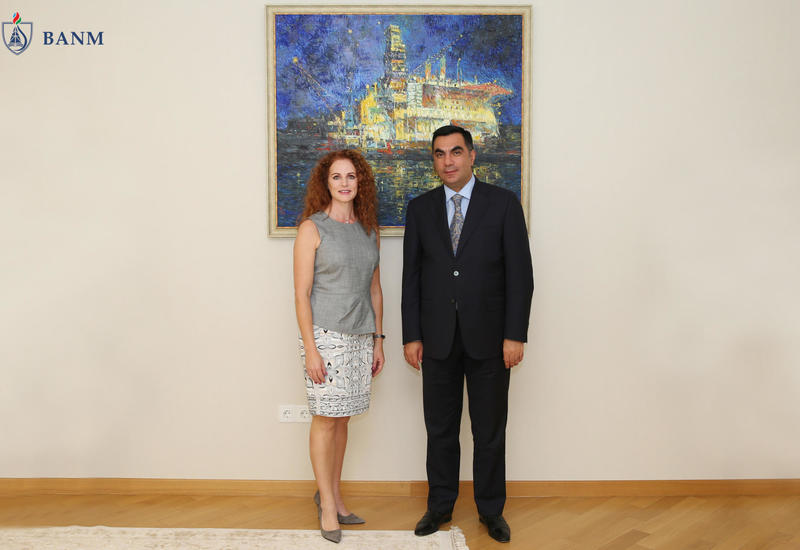 Ректор БВШН встретился с президентом Общества инженеров-нефтяников