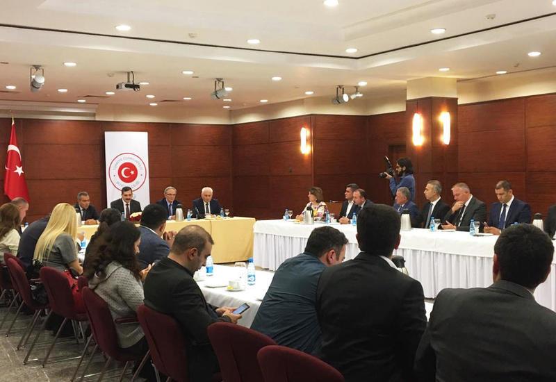 В посольстве Турции прошла встреча с представителями медиа Азербайджана