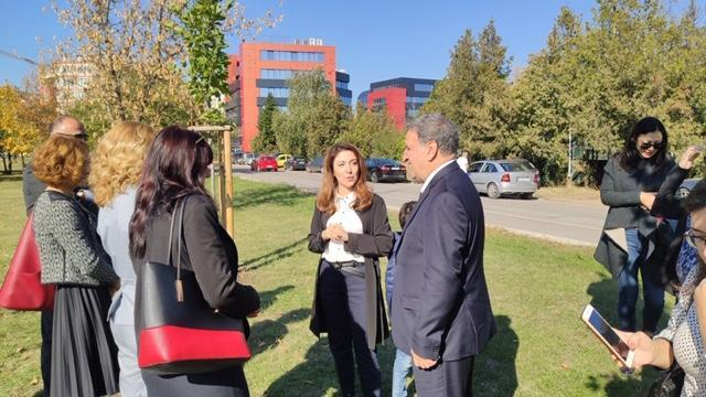 В Софии прошла акция посадки деревьев, посвященная 100-летнему юбилею органов дипломатической службы Азербайджана