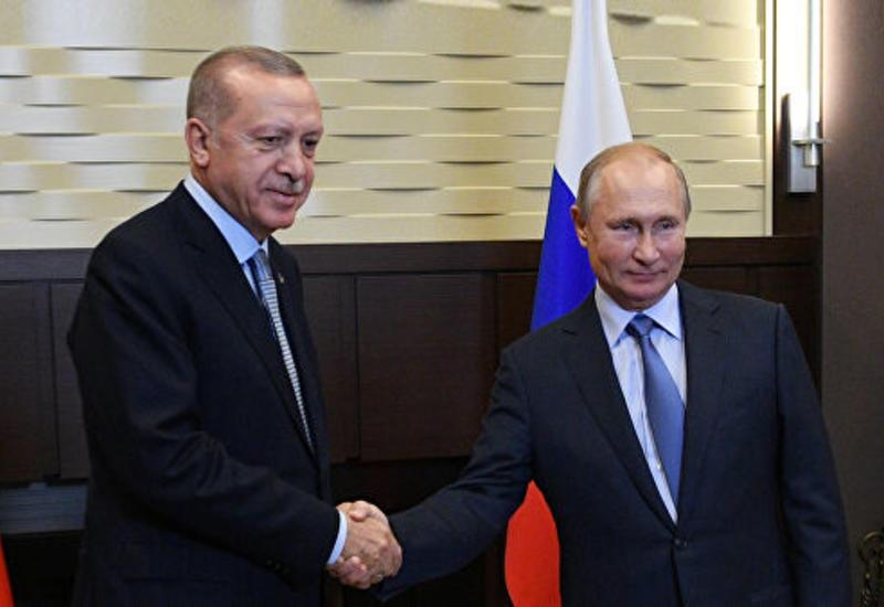 Переговоры Путина и Эрдогана в Сочи продолжаются уже пять часов