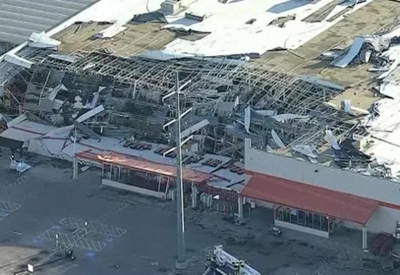 Мощный торнадо обрушился на Техас