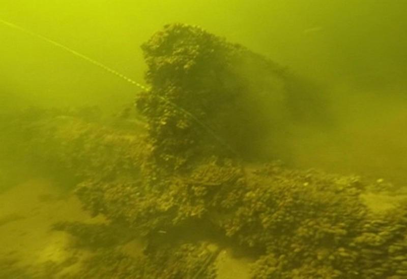 В России обнаружили средневековое судно