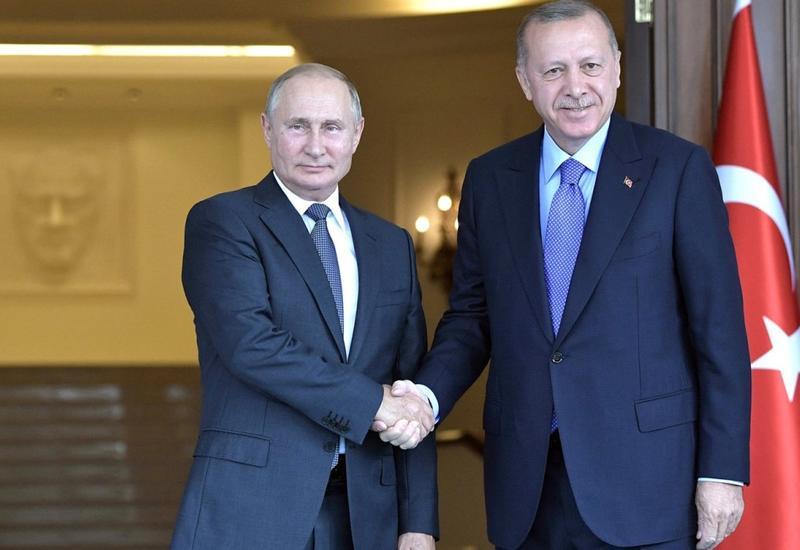 Путин обсудит с Эрдоганом планы по урегулированию в Сирии
