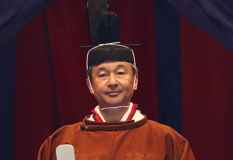 Император Японии официально объявил о вступлении на престол