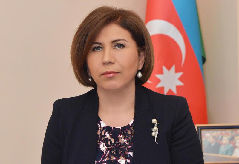 Бахар Мурадова: Солидарность граждан Азербайджана проявилась на мероприятии перед Центром Гейдара Алиева 20 октября