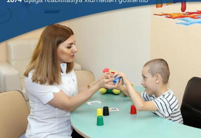 В Азербайджане сотни детей прошли реабилитацию
