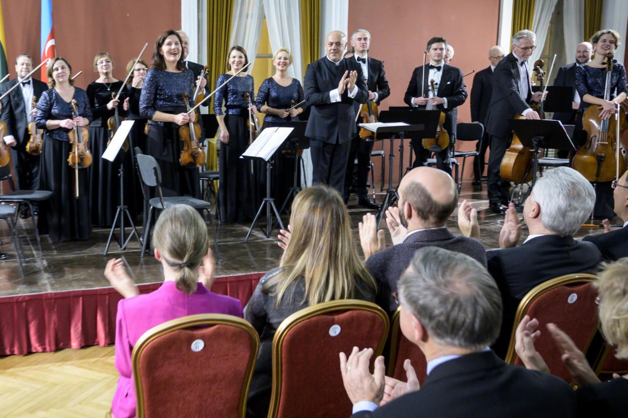 В Литве состоялся концерт в честь Дня государственной независимости Азербайджана