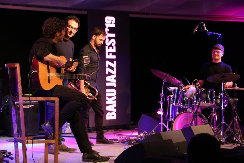 В Баку прошел концерт квартета Masaa