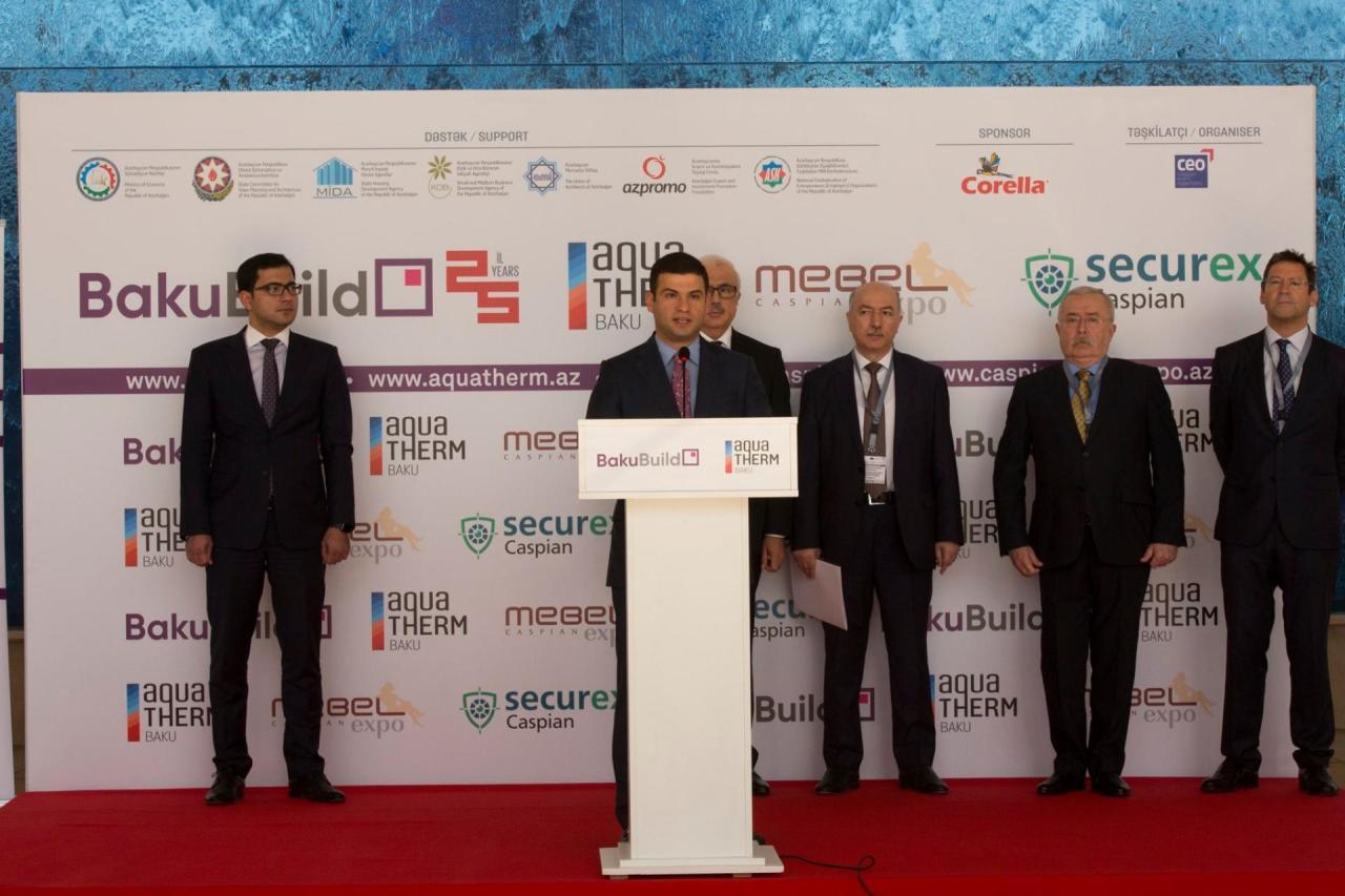 """На выставке """"Baku Build 2019"""" субъекты МСБ демонстрируют свою продукцию и услуги"""