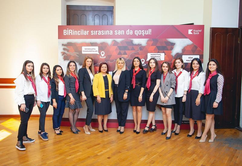 Kapital Bank провел «День карьеры» в UNEC