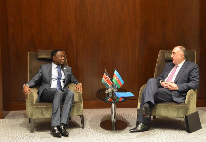 Эльмар Мамедъяров встретился с замминистра иностранных дел Кении