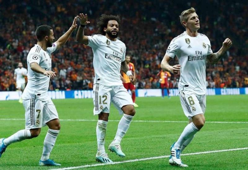 «Реал» на выезде взял верх над «Галатасараем» в ЛЧ