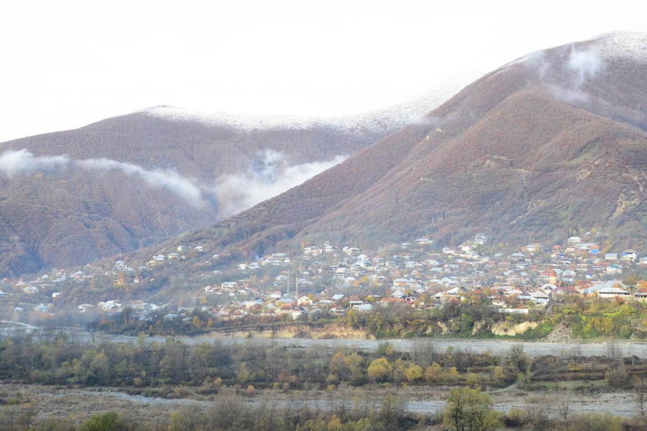 Золотая осень в Шеки - древнем городе ремесленников и мастеров