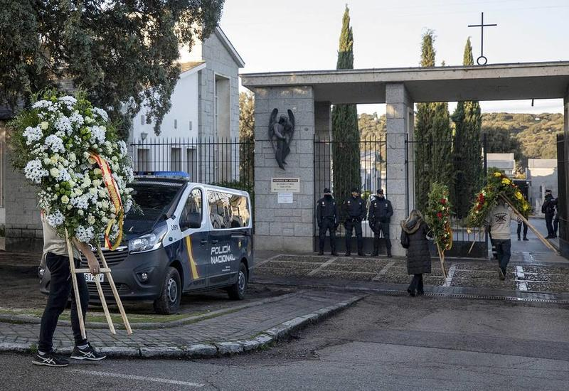 В Испании перезахоронили останки Франсиско Франко