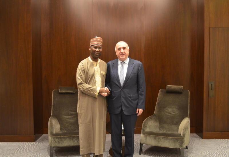 Эльмар Мамедъяров на переговорах с президентом Генассамблеи ООН