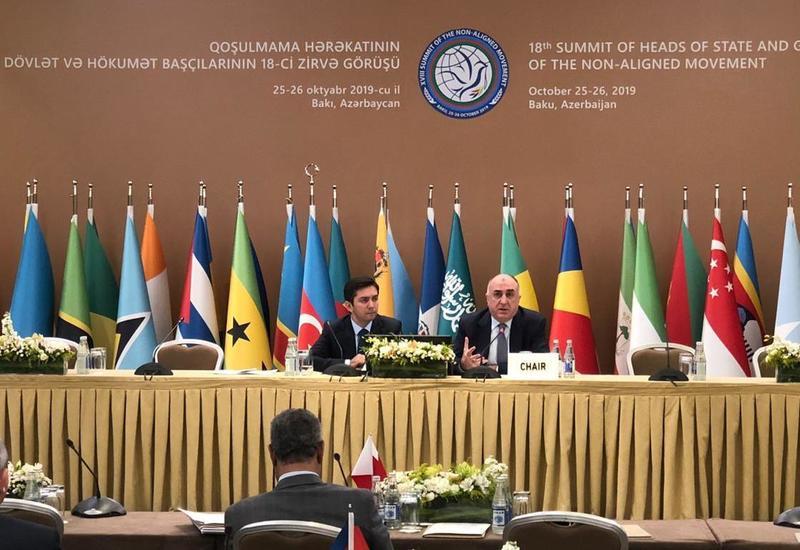 Эльмар Мамедъяров: Верим, что сможем усилить роль Движения неприсоединения в системе международных отношений