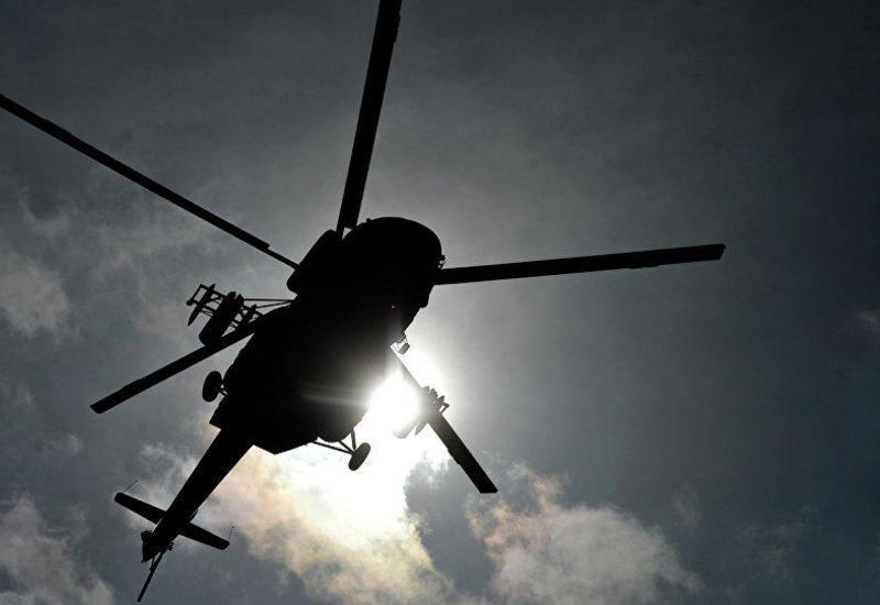 В небе над Техасом столкнулись два вертолета