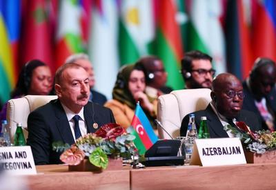 Президент Ильхам Алиев: Насильственное изменение границ, нарушение территориальной целостности стран с применением силы, вмешательство во внутренние дела недопустимы - ОБНОВЛЕНО