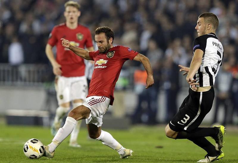 'Манчестер Юнайтед' прервал 11-матчевую серию без побед на выезде